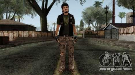 GTA 4 Skin 9 for GTA San Andreas