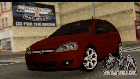 Opel Corsa C Sport for GTA San Andreas