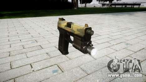 Gun HK USP 45 flora for GTA 4
