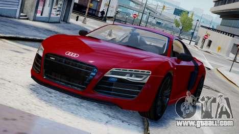 Audi R8 V10 Plus 2014 v1.0 for GTA 4