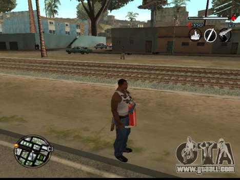 C-HUD Good for GTA San Andreas second screenshot