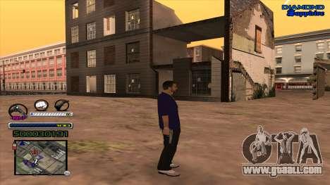 C-HUD Universal for GTA San Andreas second screenshot