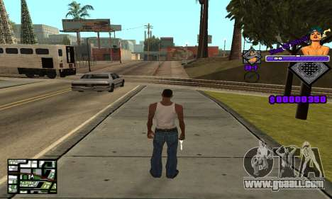 C-HUD King Of Detroit for GTA San Andreas second screenshot