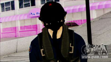 Chinese Jet Pilot from Battlefield 4 for GTA San Andreas third screenshot