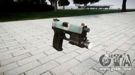 Gun HK USP 45 warsaw for GTA 4