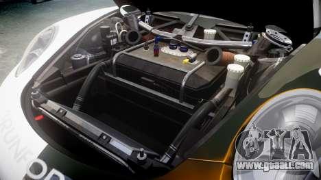 RUF RGT-8 GT3 [RIV] Nelris for GTA 4 inner view