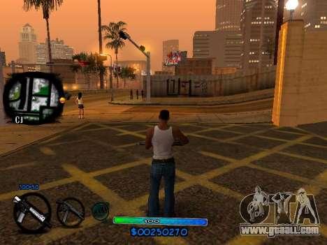 C-HUD COOL for GTA San Andreas