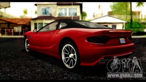 GTA 5 Hijak Khamelion IVF for GTA San Andreas left view