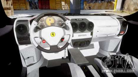 Ferrari F430 Scuderia 2007 Sharpie for GTA 4 inner view