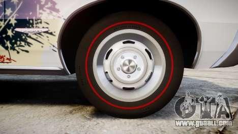 Pontiac GTO 1965 united for GTA 4 back view