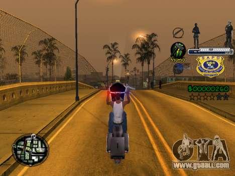 C-HUD Police S.A.P.D for GTA San Andreas fifth screenshot