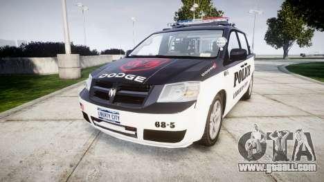 Dodge Grand Caravan LCPD [ELS] for GTA 4