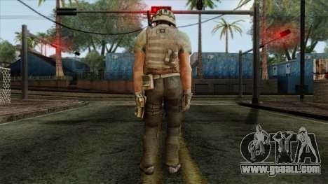 Modern Warfare 2 Skin 13 for GTA San Andreas second screenshot