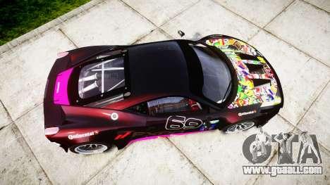 Ferrari 458 GT2 for GTA 4 right view