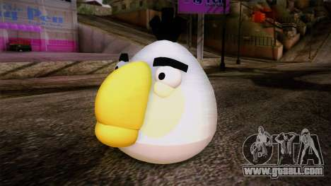 White Bird from Angry Birds for GTA San Andreas