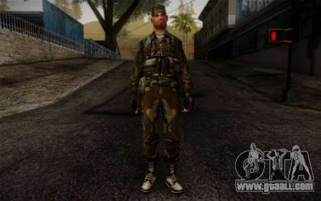 Soldier Skin 4 for GTA San Andreas