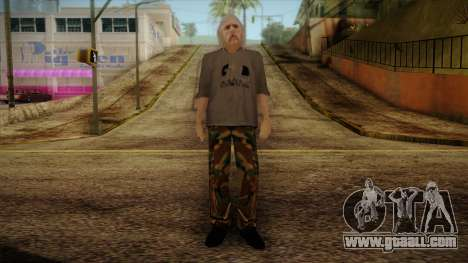 Varg Vikernes Skin for GTA San Andreas