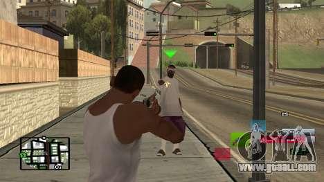C-HUD by SampHack v.19 for GTA San Andreas second screenshot