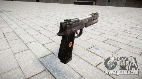 Пистолет Beretta M92 Samurai Edge S.T.A.R.S. for GTA 4 second screenshot