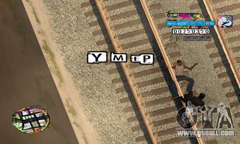 C-HUD Color for GTA San Andreas forth screenshot