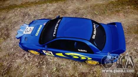 Subaru Impreza WRC 1998 v4.0 World Rally for GTA 4 right view