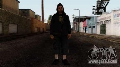 GTA 4 Skin 15 for GTA San Andreas