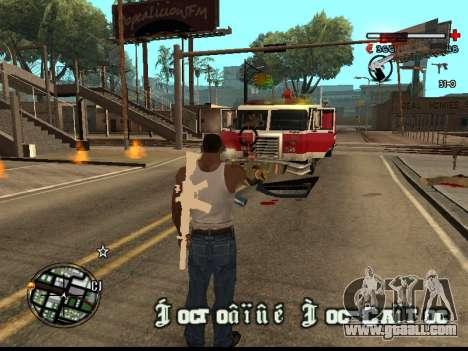 C-HUD Good for GTA San Andreas forth screenshot