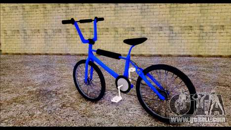New BMX Bike for GTA San Andreas left view