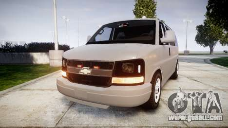 Chevrolet Express 2013 NYPD [ELS] unmarked for GTA 4
