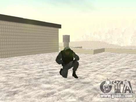 OMON MVD OF THE RUSSIAN FEDERATION for GTA San Andreas second screenshot