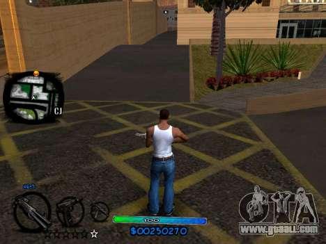 C-HUD COOL for GTA San Andreas second screenshot