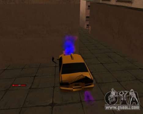 Indicator HP car for GTA San Andreas third screenshot