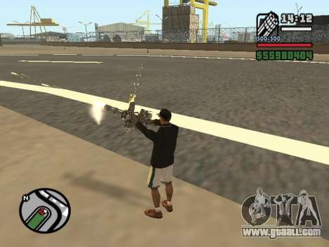 Dual ownership of all weapons for GTA San Andreas sixth screenshot