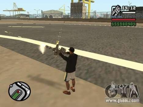 Dual ownership of all weapons for GTA San Andreas sixth screenshot