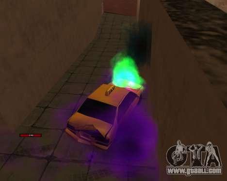Indicator HP car for GTA San Andreas forth screenshot
