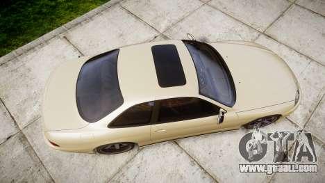 Lexus SC300 1997 for GTA 4 right view