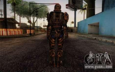 Shepard Reckoner Armor from Mass Effect 3 for GTA San Andreas second screenshot