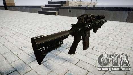Rifle HK416 CQB for GTA 4 second screenshot
