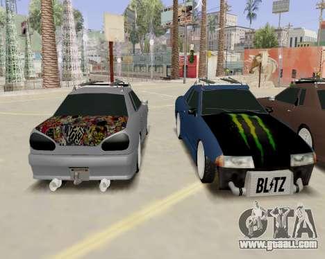 Elegy v2.0 for GTA San Andreas right view