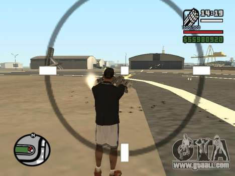 Dual ownership of all weapons for GTA San Andreas seventh screenshot