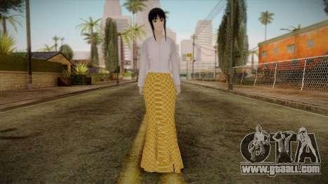 Kebaya Girl Skin v1 for GTA San Andreas