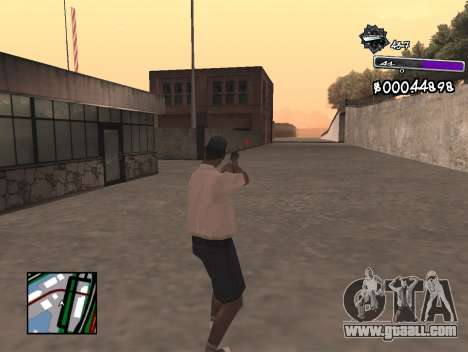 C-HUD Minimal for GTA San Andreas third screenshot