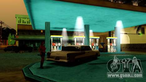 Recovery stations Los Santos for GTA San Andreas