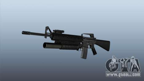 Rifle M16A2 M203 sight1 for GTA 4