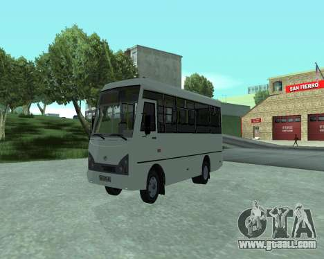I-Van A07A for GTA San Andreas right view