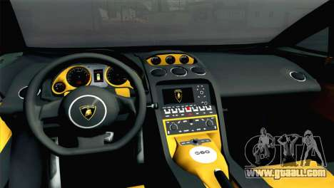 Lamborghini Gallardo 2005 for GTA San Andreas back left view