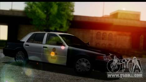 LAPD Ford Crown Victoria Whelen Lightbar for GTA San Andreas