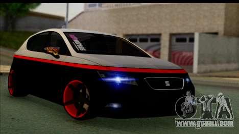 Seat Leon Hellandreas 2013 for GTA San Andreas