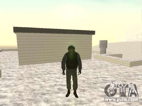 OMON MVD OF THE RUSSIAN FEDERATION for GTA San Andreas
