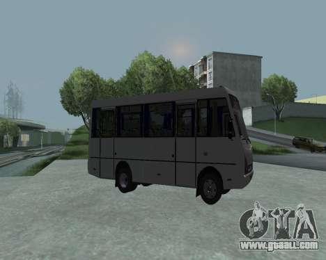 I-Van A07A for GTA San Andreas left view